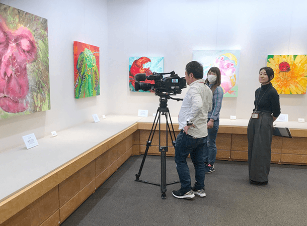 髙島屋さんの個展が始まっています。