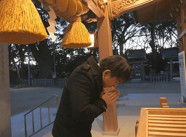 一宮神社に初詣