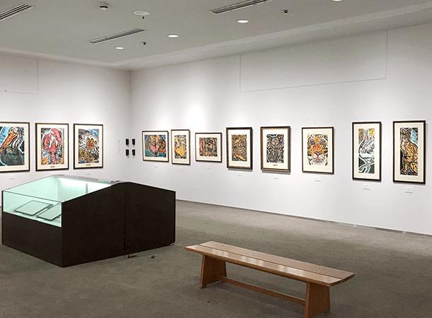 丸亀美術館での個展、ついに開催です。