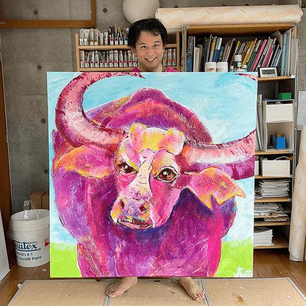 「アジア水牛」